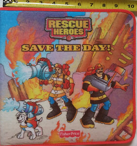 Rescue Heroes Save the Day! Felt Book with Felt Characters