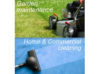 Garden maintenance / Home & Commercial cleaning. Covering Leeds, Bradford, Halifax