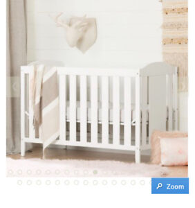 South shore crib converts to toddler bed