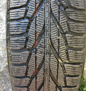 Four Lightly Used Nokian SUV Snow Tires - 225/65 R17 106R XL