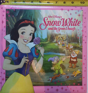 Snow White and the Seven Dwarfs Hard Cover Book