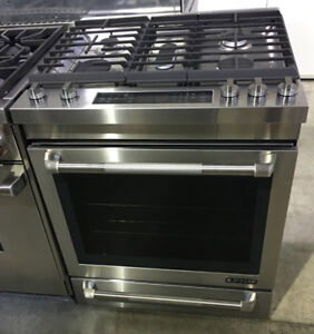 Jenn-air 30 Gas range slide-in stainless steel