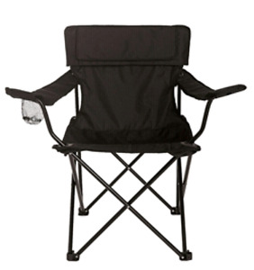 Foldable camping chair with bag