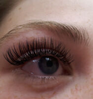 Eyelash extensions and Microblading services