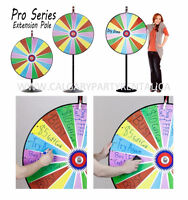 36 inch Dry Erase Colour Spin Prize Wheel with Extension Base