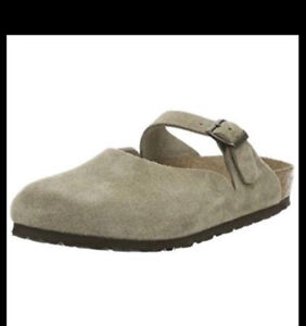 New ~ Birkenstock Rosemead suede clogs ~ Women's 10Text 604-7