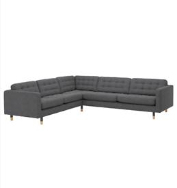 IKEA landskrona 5 seater corner sofa