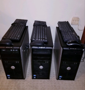 3 Desktop Computers