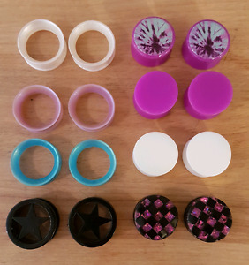 3/4 inch plugs and tunnels