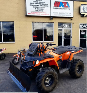"ATV SNOWPLOW KIT UNIVERSAL 60"" CALL 905 665 0305"