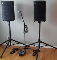 P.A. Speaker / Mic System Rental (Wedding, Event, Party, etc)