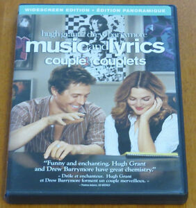 Music and Lyrics Widescreen Edition DVD 2007
