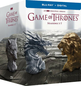 Wanted: Seasons 1-7 Game of Thrones Blu ray.