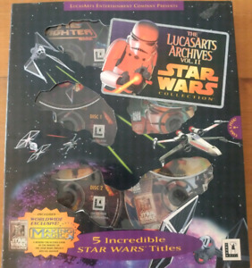 Star wars PC Game Collection.