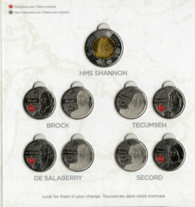War of 1812 Coin Set