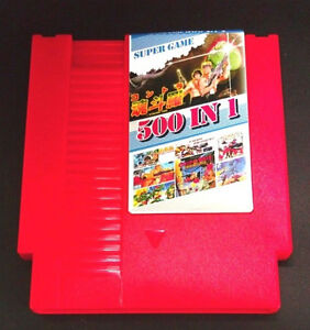 500 jeux video en 1 Nintendo NES Cartridge Contra Ninja Mario