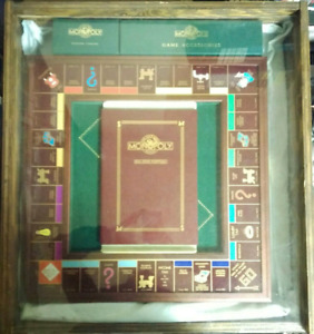 Franklin Mint Monopoly Collector's Edition *NEVER PLAYED*