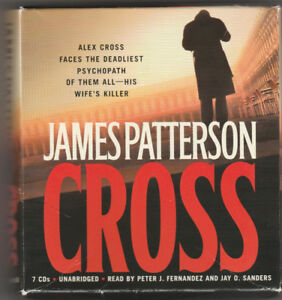 Cross by James Patterson 7CDs barely used