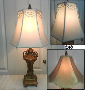 "Vintage Beauty! Lamp with 2 Shade as Options,H30""(TEXT/CALL Pls)"