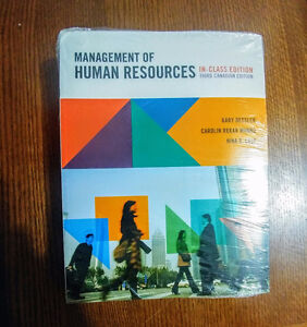 Management of Human Resources (3rd Canadian Edition) NEW