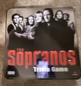 THE SOPRANOS GAME BRAND NEW SEALED