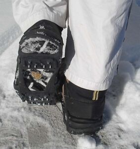anti-slippage heavy duty ice cleats, 100% West Island Greater Montréal image 1