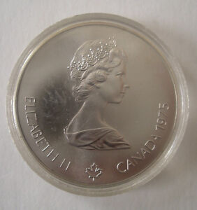 Canada 1976 Olympic $5.00 Silver Coin ~ Diving Peterborough Peterborough Area image 2