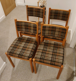 4 x Vintage Wooden Chairs