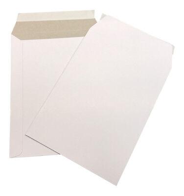1000 - 6x8 Cardboard Envelope Mailers Flat Self-seal Photo Mailer Shipping