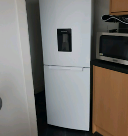 White beko A class water dispenser fost free fridge freezer