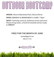 Free Outdoor Bootcamp
