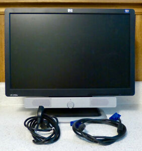 H.P. L1908w  19 inch COMPUTER MONITOR WITH SPEAKERS