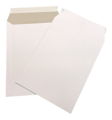 100 - 6x8 Cardboard Envelope Mailers Flat Self-seal Photo Mailer Shipping
