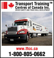 Canada's Largest Provider of Commercial Driver Training!