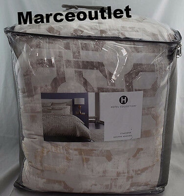 Hotel Collection Fresco KING Comforter Gold