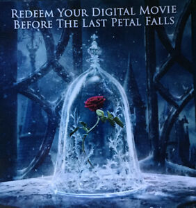 Beauty and The Beast 2017 Movie digital code ONLY