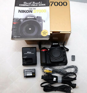 Nikon d7000 with low shutter count 5074 body only