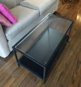 Glass Coffee Table Set (two tables)