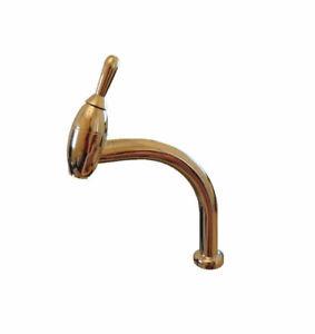 Gessi Joystick Single-Handle High Arc Kitchen Sink Faucet New
