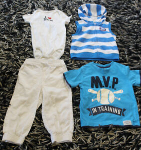 18-24 months boy's clothes- everything in the pic for $5