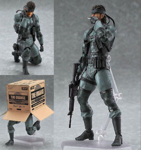 Figma Metal Gear Solid - Solid Snake Action Figure in store!