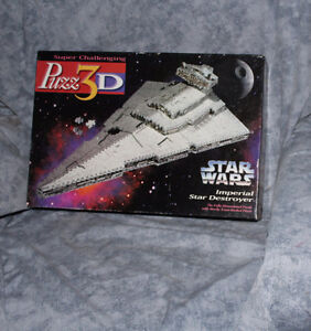 Star Wars Collectables - pez - figures - 3d puzzle