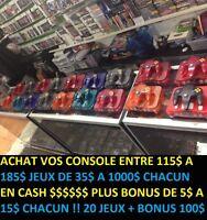 24 CONSOLE DE N64 8 DIFFÉRENTE COULEUR TRÉS RARE !!!!!