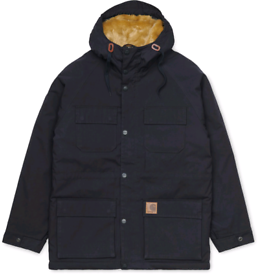 Carhartt Mentley Jacket in Navy Large