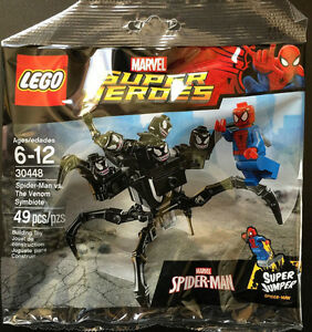 "Lego Super Heroes ""Spider-Man vs. The Venom Symbiote"" #30448"