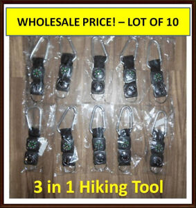 3 in 1 Hiking Tool - Lot of 10 - Perfect for Re-sale Chilliwack