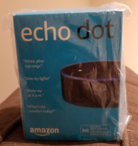 Echo Dot (2nd Generation), BRAND NEW, NEVER OPENED, SEALED