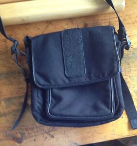 Tilley Endurables Canvas and Leather Shoulder Bag Tote