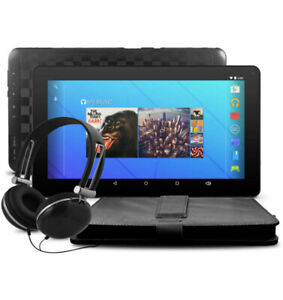 "Quad Core 7"" & 10"" Android Tablet – Headphones+ Case Included"
