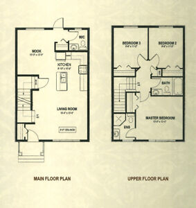Rental-BRAND NEW 3 Bed house for rent Sylvan Lake from Nov 1st